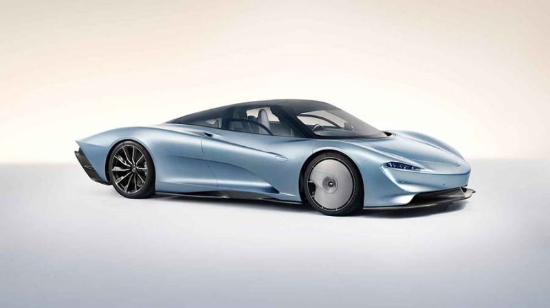 2018-as McLaren Speedtail elölről