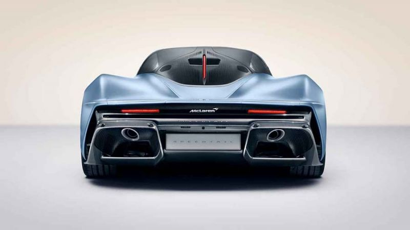 2018-as McLaren Speedtail hátulról