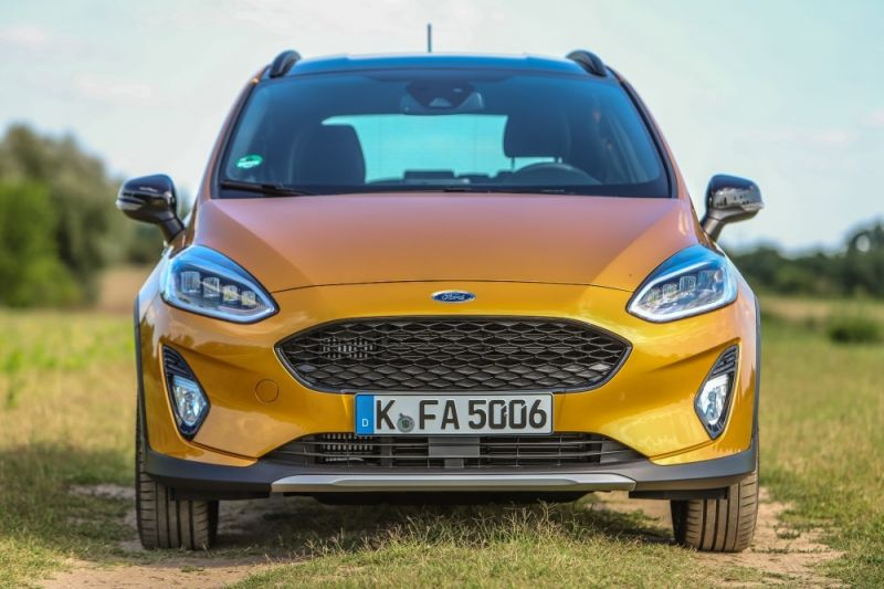 Ford Fiesta crossover